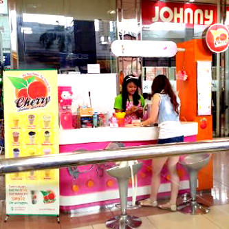 Counter Cherry Bubble Drinks Metropolis Mall Lt. 2 Dpn Johny Andrean